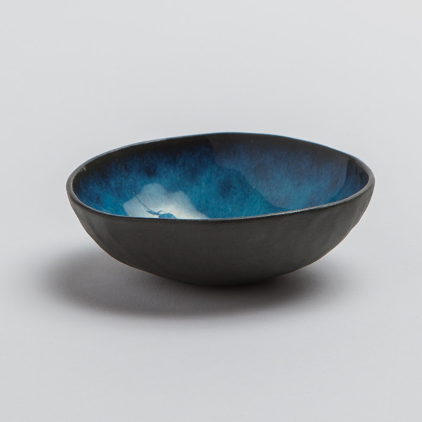 andrew_rouse_ceramics_turquoise_black_colored_bowl